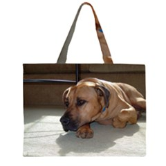 Blackmouth Cur Large Tote Bag by TailWags