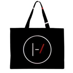 Twenty One Pilots Band Logo Zipper Mini Tote Bag by Onesevenart