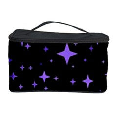 Bright Purple   Stars In Space Cosmetic Storage Case by Costasonlineshop