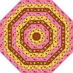 Cupcakes Pattern Golf Umbrellas by Valentinaart