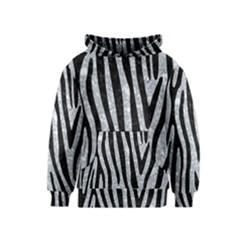 SKN4 BK-GY MARBLE Kids  Pullover Hoodie by trendistuff