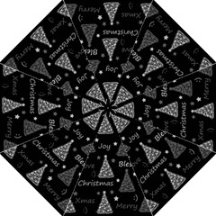New Year Pattern   Gray Golf Umbrellas by Valentinaart