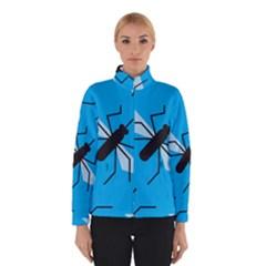 Mosquito Blue Black Winterwear by AnjaniArt