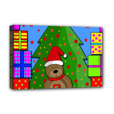 Xmas Gifts Deluxe Canvas 18  X 12   by Valentinaart