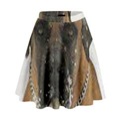 Boerboel  High Waist Skirt by TailWags