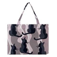 Elegant Cats Medium Tote Bag by Valentinaart