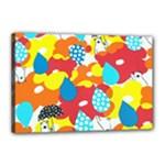 Bear Umbrella Canvas 18  x 12