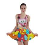 Bear Umbrella Mini Skirt
