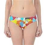 Bear Umbrella Hipster Bikini Bottoms