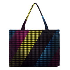 Techno Music Medium Tote Bag by AnjaniArt