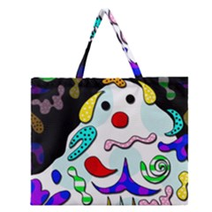 Candy Man` Zipper Large Tote Bag by Valentinaart