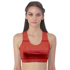 Writing Grace Sports Bra by MRTACPANS