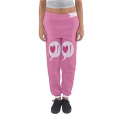 Valentines Pink Day Copy Women s Jogger Sweatpants by AnjaniArt