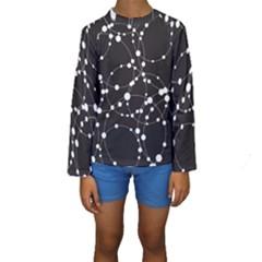 Network Kids  Long Sleeve Swimwear by AnjaniArt