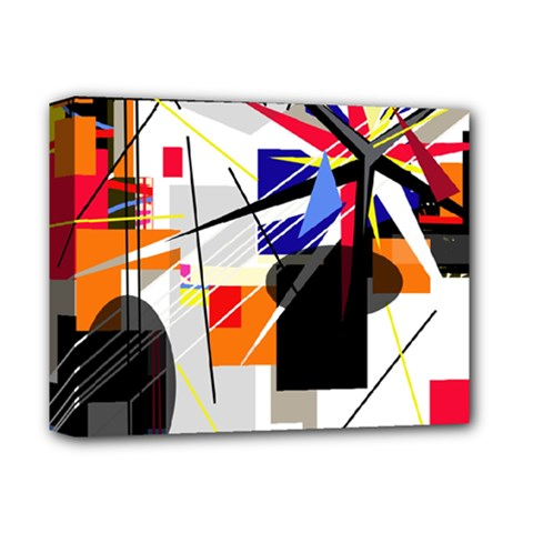Champion Deluxe Canvas 14  X 11  by Valentinaart