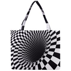 Optical Illusions Mini Tote Bag by AnjaniArt