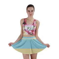 Romantic Flags Mini Skirt