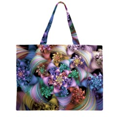 Pong Synth Curl Amorina 02 Whiskey 01 Peggi 05 Pstl Pz Pix Zipper Large Tote Bag by WolfepawFractals