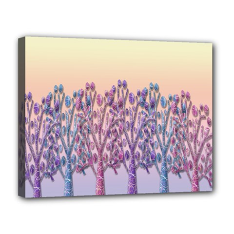 Magical Hill Canvas 14  X 11  by Valentinaart