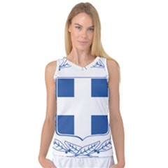 Coat of Arms of Greece Women s Basketball Tank Top by abbeyz71