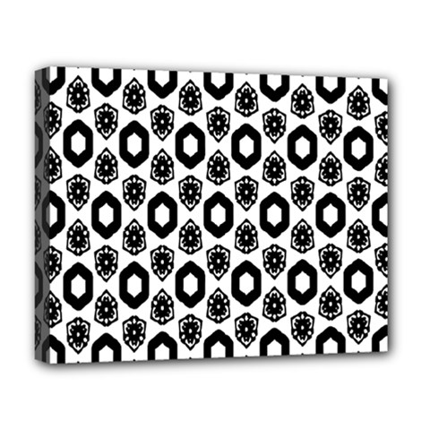 Background Pattern Deluxe Canvas 20  X 16   by AnjaniArt