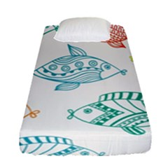 Fish Fitted Sheet (single Size)