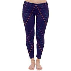 Line Color Classic Winter Leggings by AnjaniArt