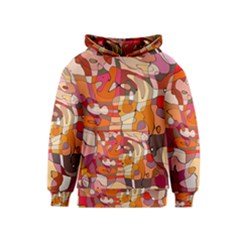 Abstract Abstraction Pattern Moder Kids  Pullover Hoodie