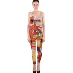 Abstract Abstraction Pattern Moder Onepiece Catsuit by Amaryn4rt