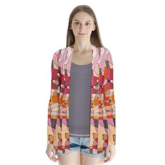 Abstract Abstraction Pattern Moder Cardigans by Amaryn4rt