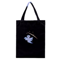 Ghost Night Night Sky Small Sweet Classic Tote Bag by Amaryn4rt