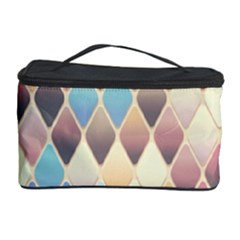 Abstract Colorful Background Tile Cosmetic Storage Case by Amaryn4rt