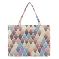 Abstract Colorful Background Tile Medium Tote Bag
