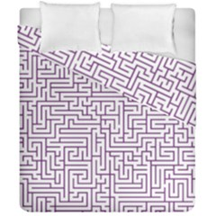 Maze Lost Confusing Puzzle Duvet Cover Double Side (california King Size)