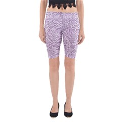 Maze Lost Confusing Puzzle Yoga Cropped Leggings