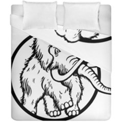 Mammoth Elephant Strong Duvet Cover Double Side (california King Size)
