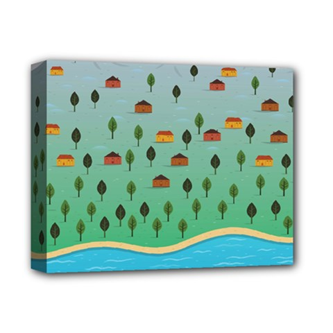 Rural Scenery Deluxe Canvas 14  X 11  by AnjaniArt