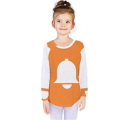 Bell Orange Copy Kids  Long Sleeve Tee by Jojostore