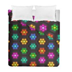 Pattern Background Colorful Design Duvet Cover Double Side (Full/ Double Size)
