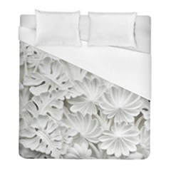 Pattern Motif Decor Duvet Cover (full/ Double Size) by Amaryn4rt