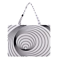Spiral Eddy Route Symbol Bent Medium Tote Bag by Amaryn4rt