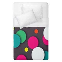 Color Balls Duvet Cover (single Size) by Jojostore