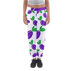 Decorative Plums Pattern Women s Jogger Sweatpants by Valentinaart