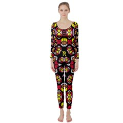 Queen Design 456 Long Sleeve Catsuit by MRTACPANS