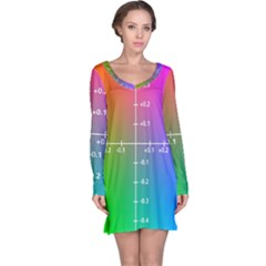 Formula Plane Rainbow Long Sleeve Nightdress by Jojostore