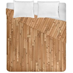 Parquet Floor Duvet Cover Double Side (california King Size) by Jojostore