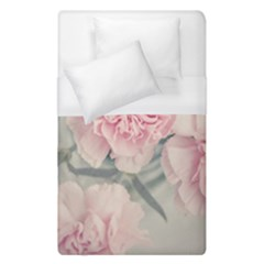 Cloves Flowers Pink Carnation Pink Duvet Cover (single Size) by Amaryn4rt