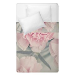 Cloves Flowers Pink Carnation Pink Duvet Cover Double Side (single Size) by Amaryn4rt