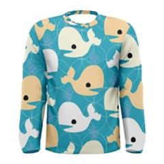 Whole Sea Animals Men s Long Sleeve Tee by Jojostore