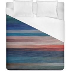 Background Horizontal Lines Duvet Cover (california King Size)